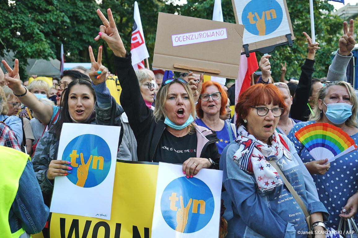 Media freedom and Rule of Law in Poland