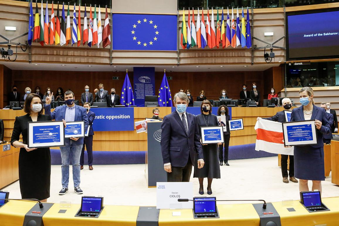 Sakharov Prize for Freedom of Thought Award Ceremony 2020