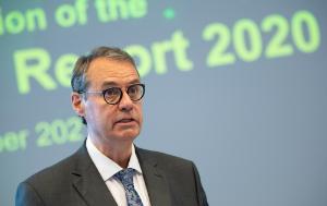 Ville Itälä, Director-General of the European Anti-Fraud Office (OLAF), speaking.