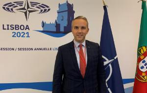 DNAT Chair Tom Vandenkendelaere at the 67th Session of the NATO PA Lisbon - 11 October 2021