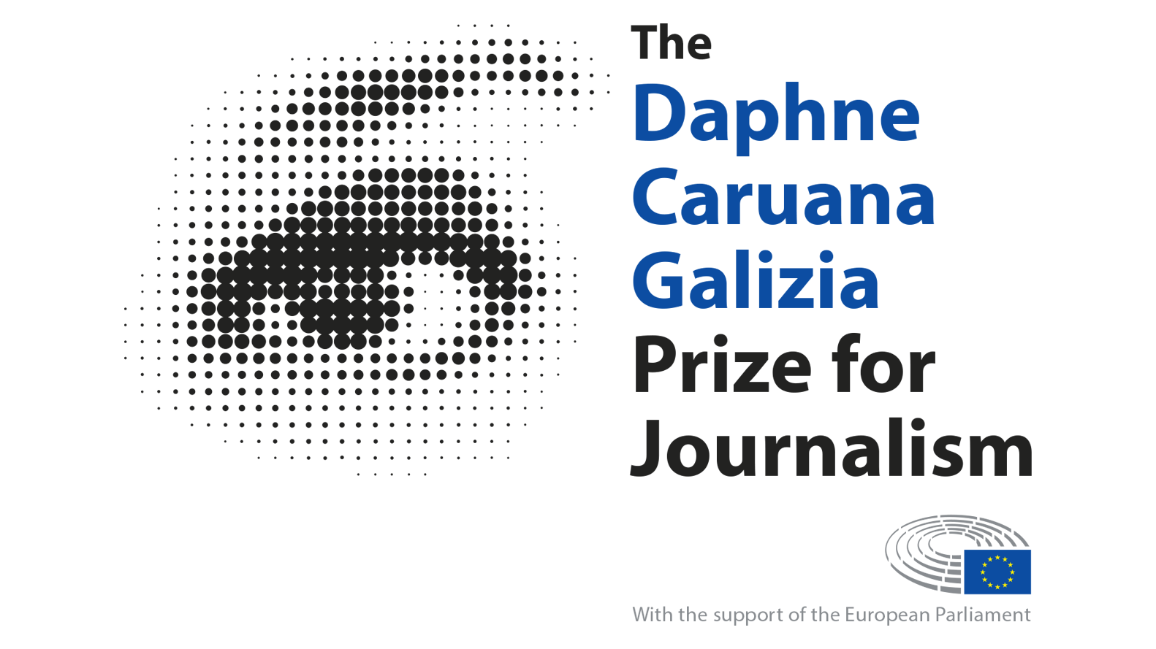 The Daphne Caruana Galizia Prize for Journalism is awarded each year around the 16th October, the day of the journalist's assassination © EP