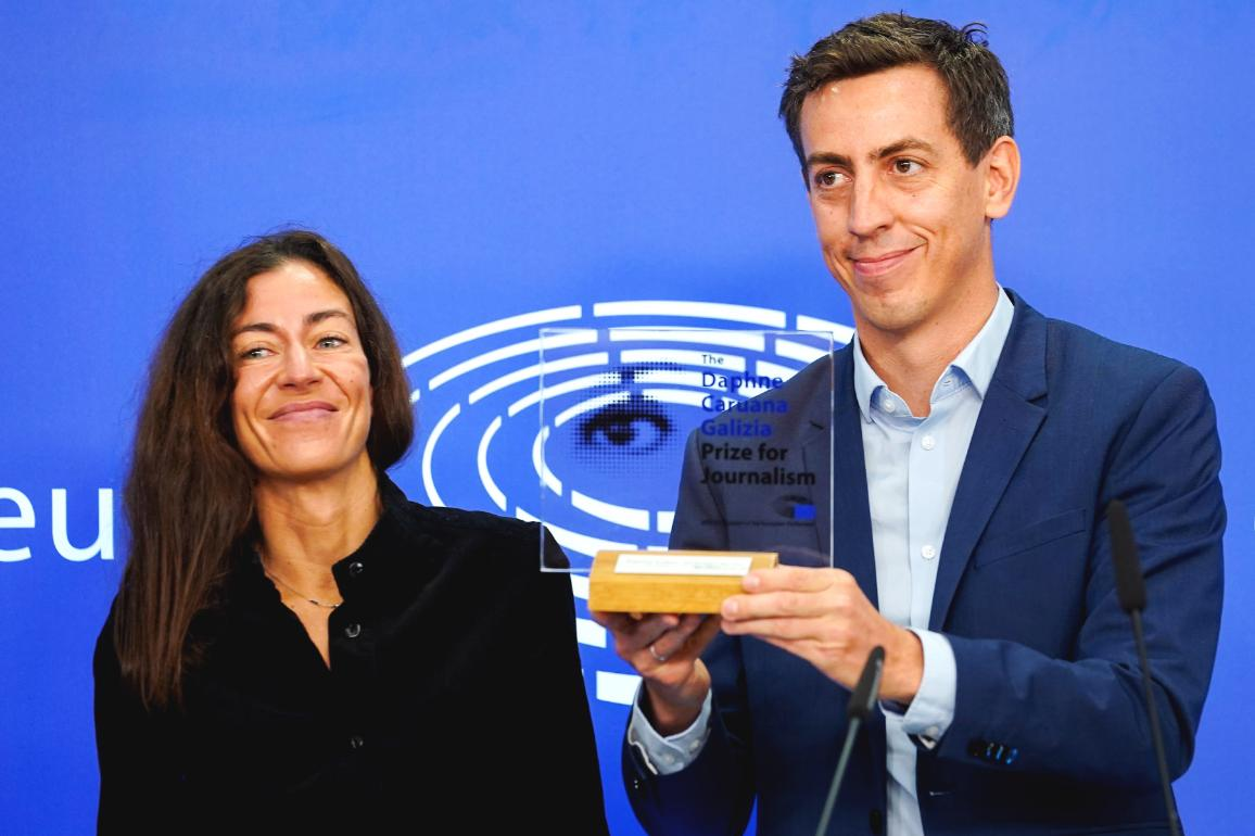 The Pegasus Project was awarded the 2021 Daphne Caruana Galizia Prize for Journalism
