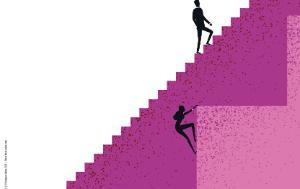 Image illustrating gap in gender equality