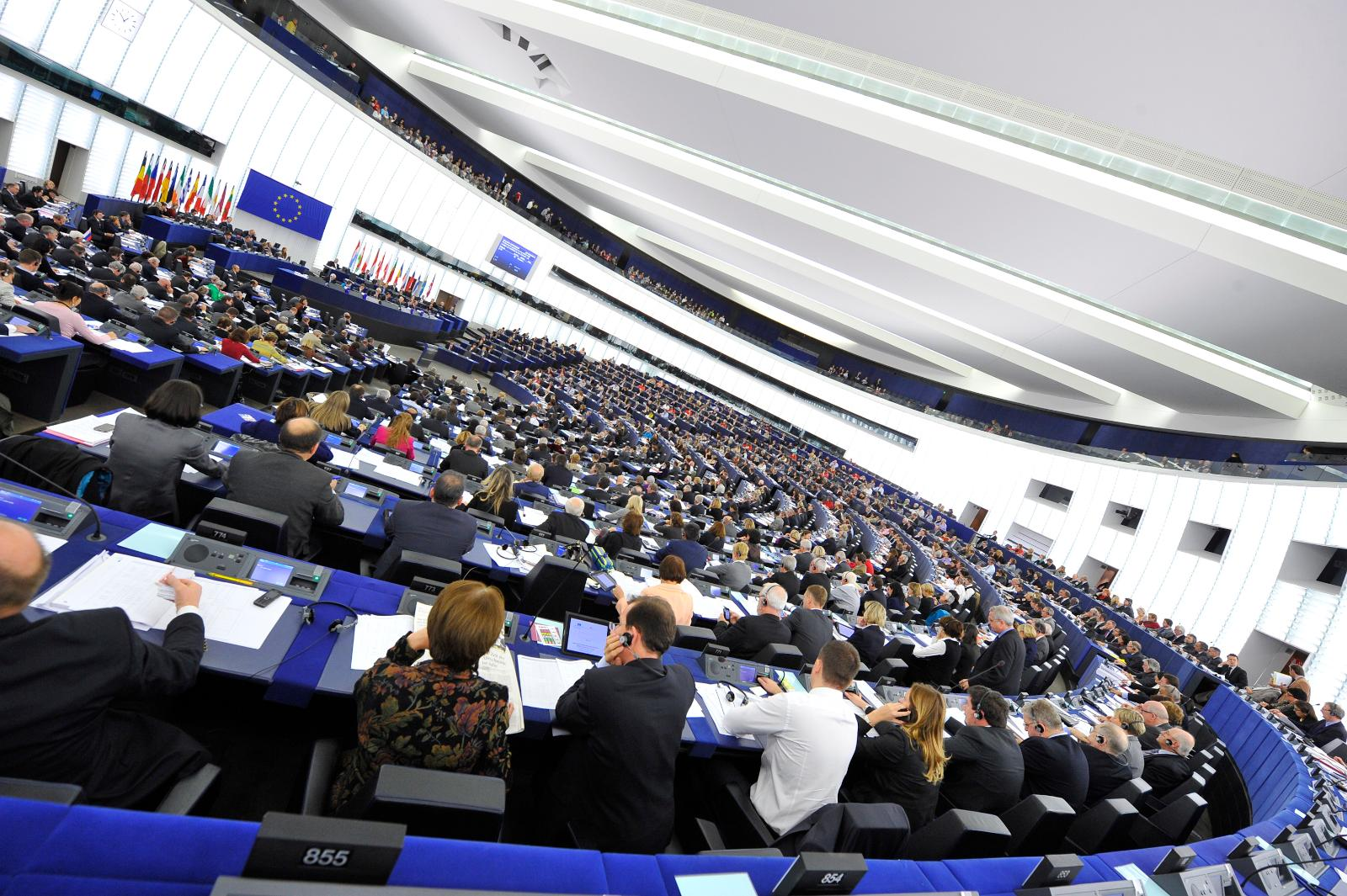 European Parliament session, Strasbourg, 16-19 January 2012