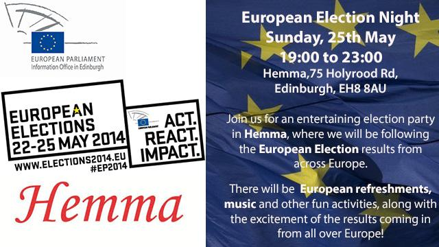 EU Election Night invite