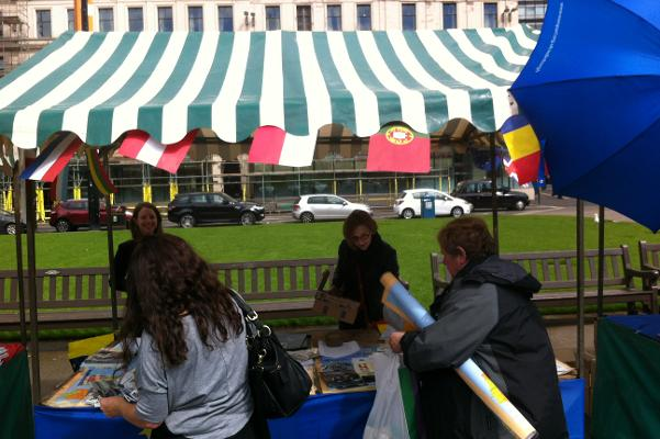 2014 Europe Day stall