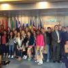 Students from the University of Gerogia visiting the EPIO office in Edinburgh