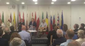 Academics discuss the UK's historic referendum at Europe House.