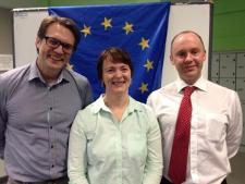 EU Elections discussion with Per Johansson and Linda Cunningham