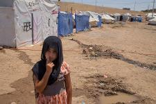Refugee camp in the north of Iraq ©BELGAIMAGE/ZUMAPRESS/D.Honl